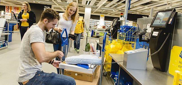 Ikea Möbel verleihen