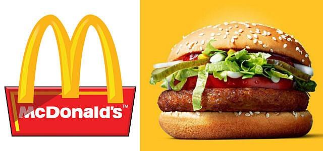 McDonalds veganer Burger McVegan