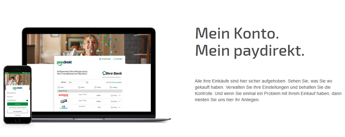 PayPal-Alternative Paydirekt