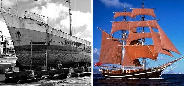 """""""Brigantes""""-Projekt: emissionsfreier Transport mit Segelschiff"""