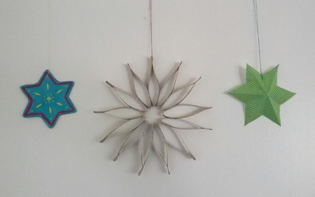 sterne basteln 5 kreative anleitungen zu weihnachten. Black Bedroom Furniture Sets. Home Design Ideas