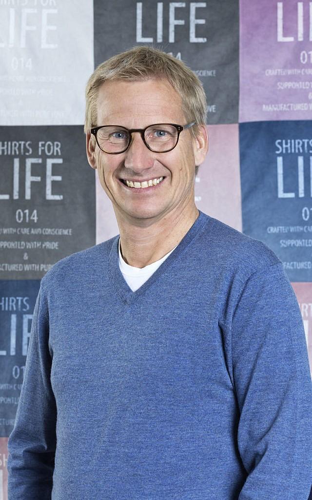 Dr. Ulrich Hofmann, Geschäftsführer von Brands Fashion