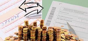 Spenden von Steuer absetzen