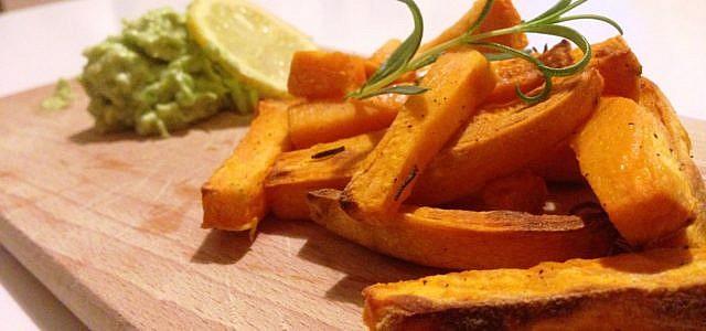 Süßkartoffel zubereiten