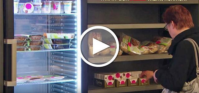 Video: Supermarkt verschenkt abgelaufene Lebenmittel