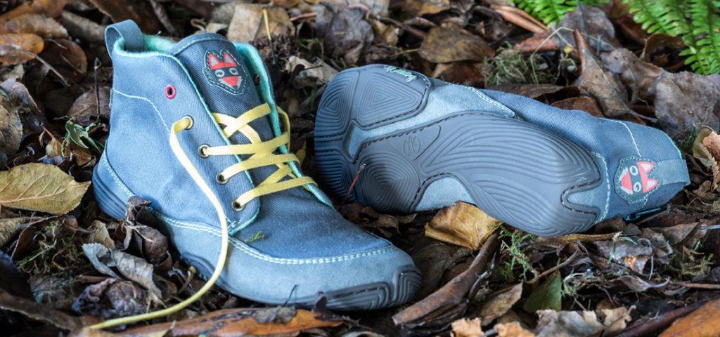 Nachhaltige Barfußschuhe: Wildling Shoes haben eine sehr flexible Barfußsohle für Damen, Herren und Kinder.