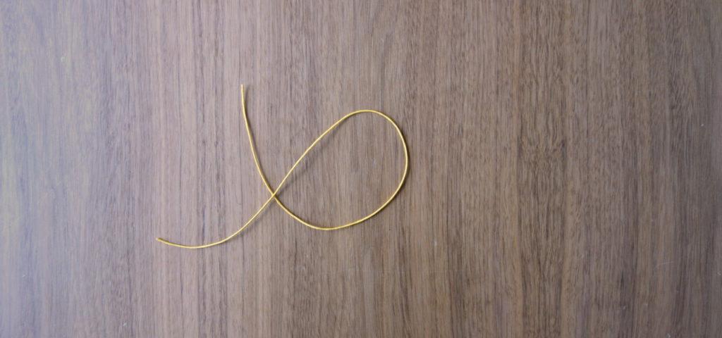 Armbänder selber machen – es beginnt mit einem Stück Band …