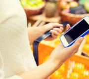 Smartphone App Ernährung Einkaufen Shopping kaufen