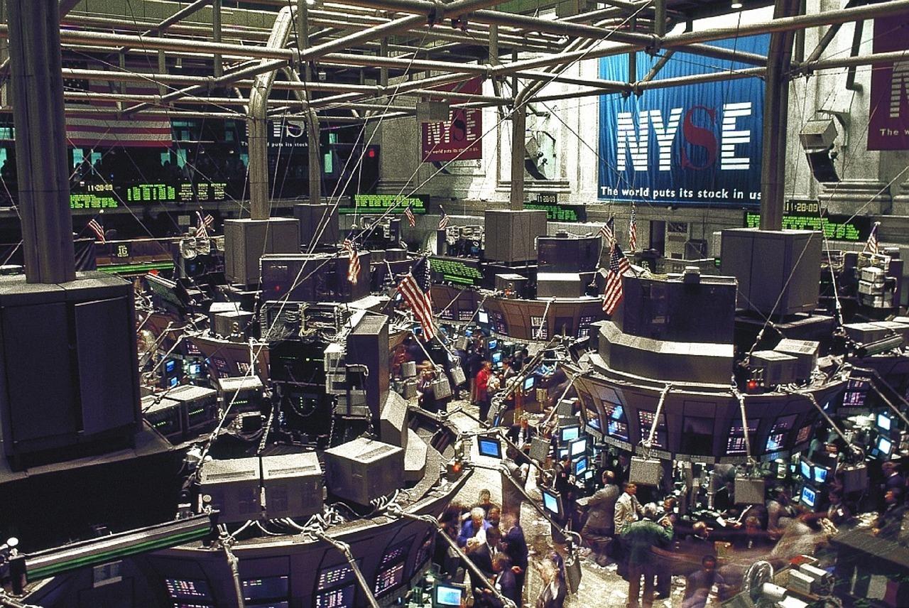Börsenhandel an der New Yorker Wallstreet