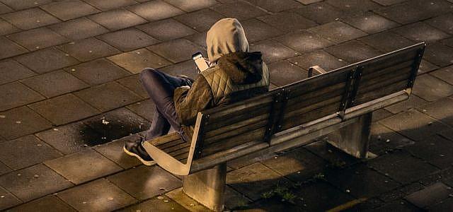 Depression Smartphone soziale Medien Studie