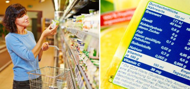 Zutatenliste von Lebensmitteln richtig lesen