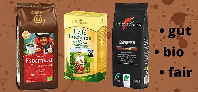 Bio-Kaffee & Fair-Trade-Kaffee