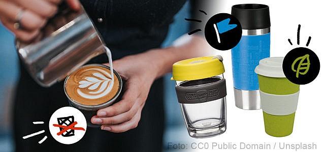 BPA-freie Kaffeebecher to go