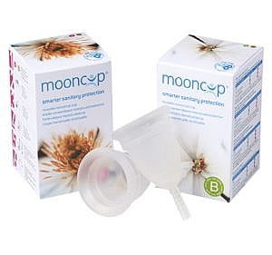 Mooncup Menstruationstasse
