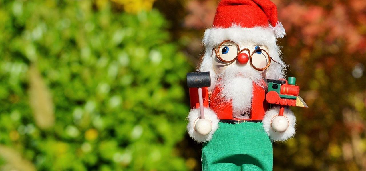 Schrottwichteln in der Weihnachtszeit