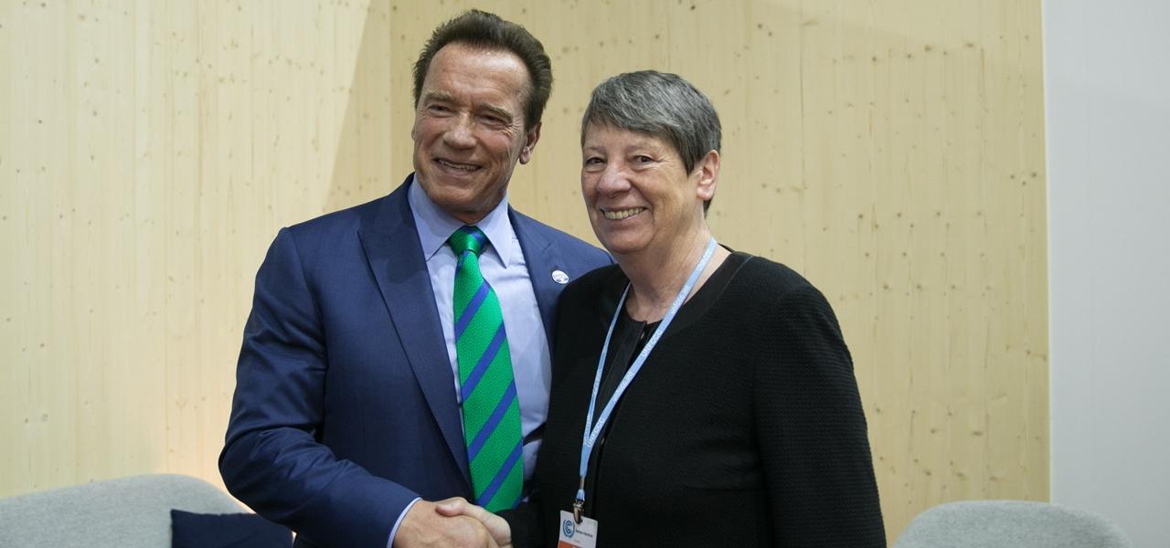 Arnold Schwarzenegger Klimakonferenz