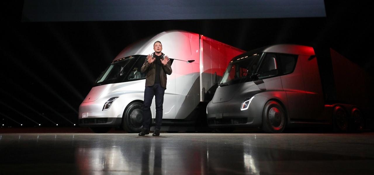 Tesla Semi LKW Elektro Elon Musk