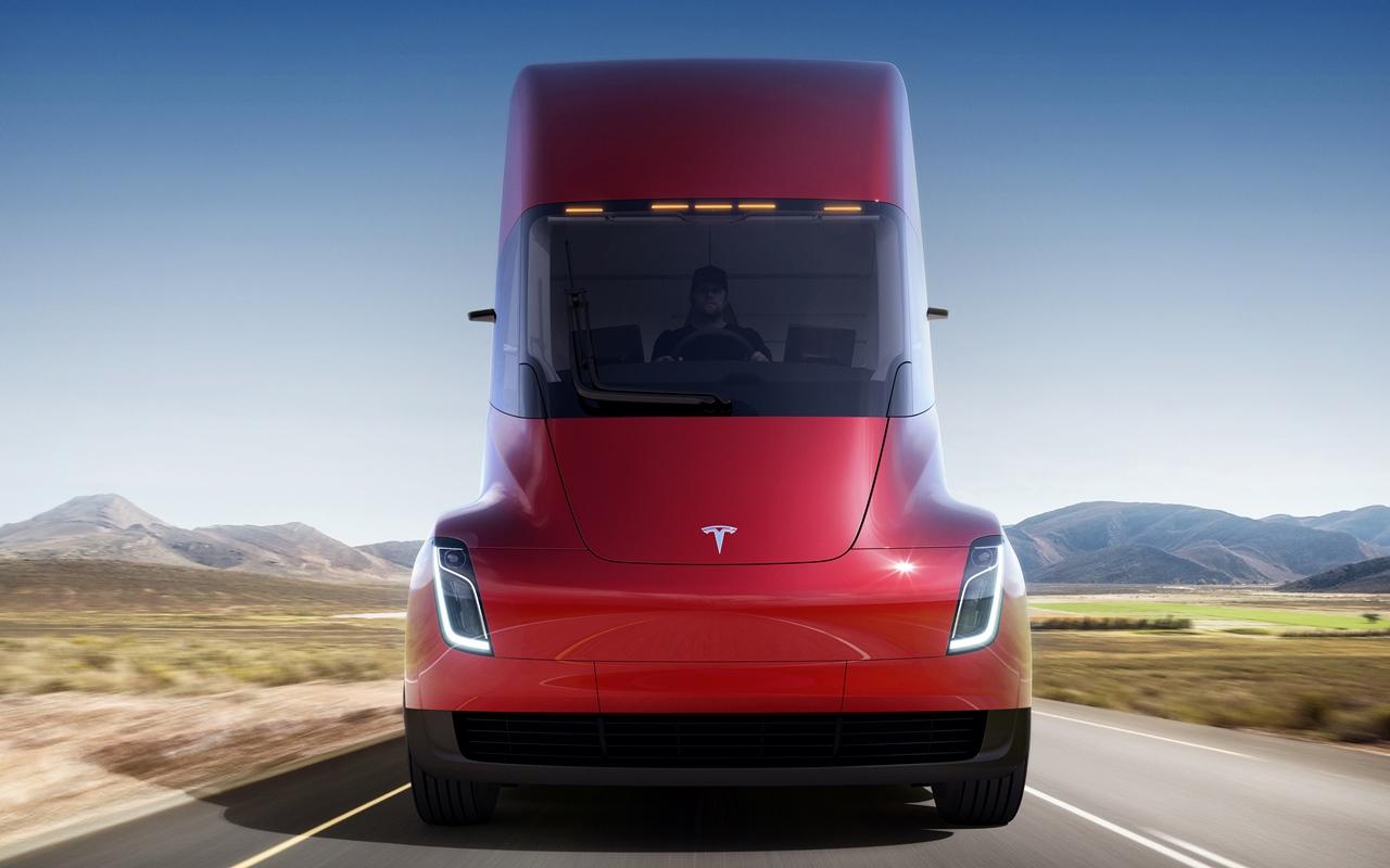 Tesla Semi Elektro LKW