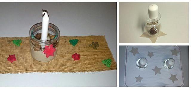 tischdeko zu weihnachten 3 kreative und nachhaltige ideen. Black Bedroom Furniture Sets. Home Design Ideas