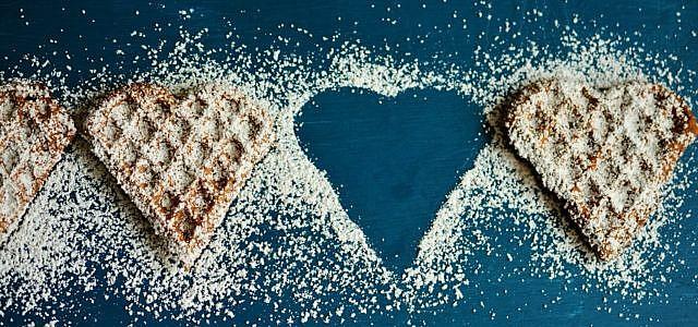 Vegan oder nicht: Waffeln lassen bei vielen das Herz höher schagen.