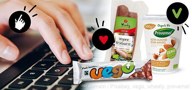 Die besten veganen Online-Shops
