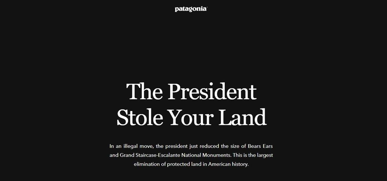 Patagonia Trump Klage