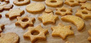 Backpapier kekse Plätzchen