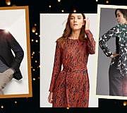 Festliche Kleidung fairer Labels