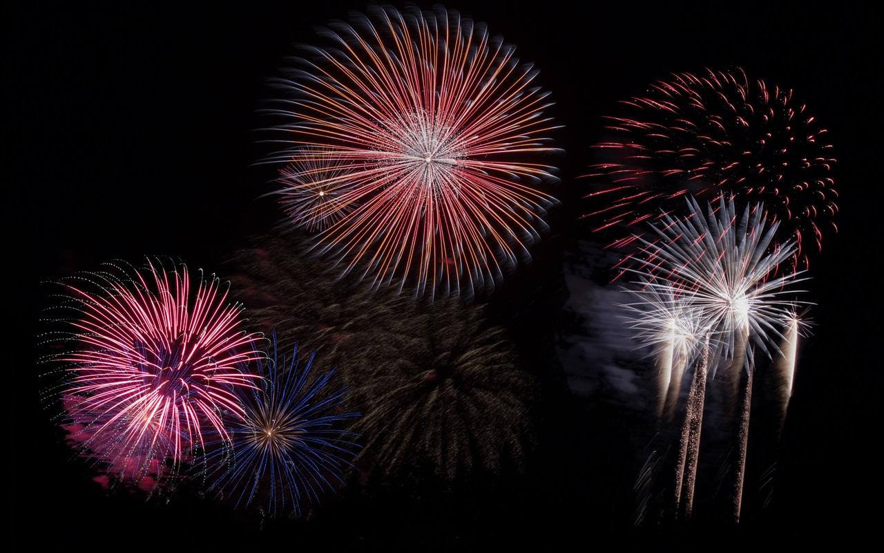 Feuerwerk Sylvester Neujahr Raketen