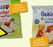 Foodwatch Reiswaffeln Reisbrei Arsen