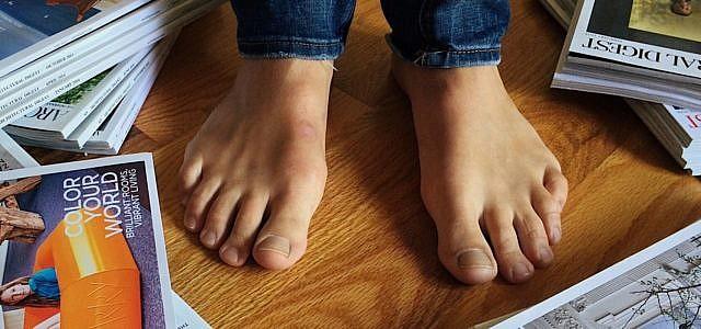 Gepflegte Füße tragen uns leichter durch die Welt
