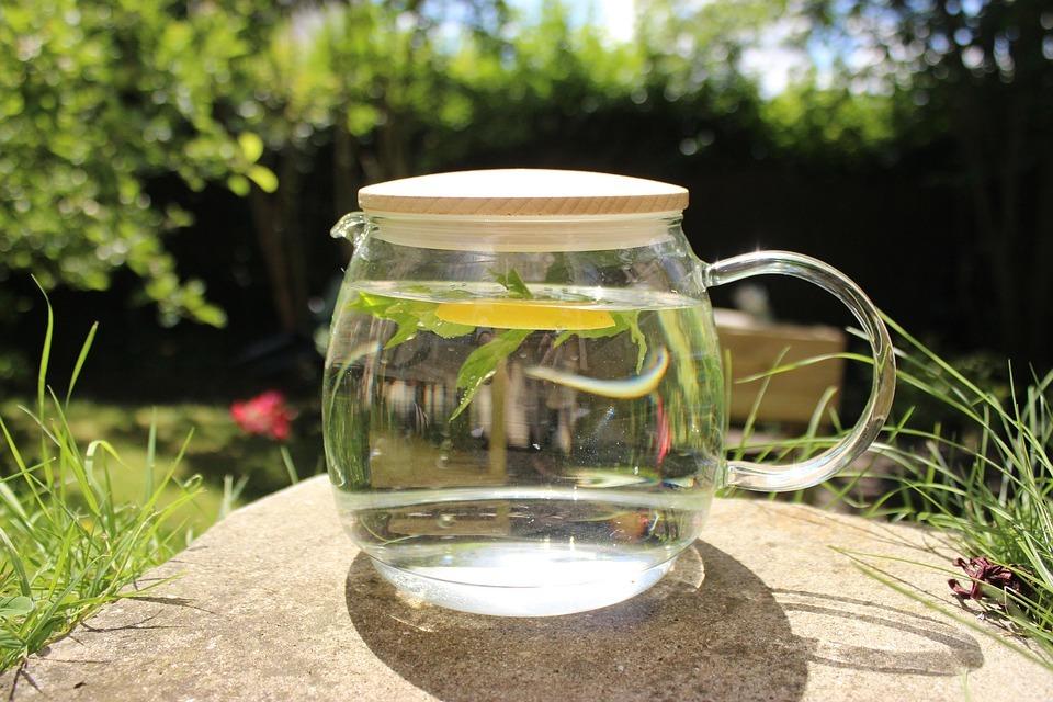 Infused Water bereitest du am besten mit frischen Bio-Zutaten zu.