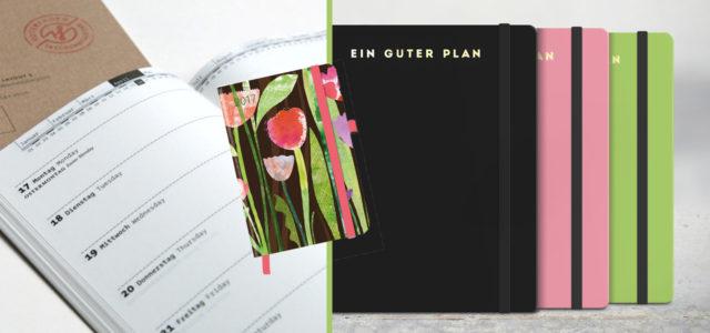 6 schöne Kalender: gut organisiert, achtsam und nachhaltig im Alltag