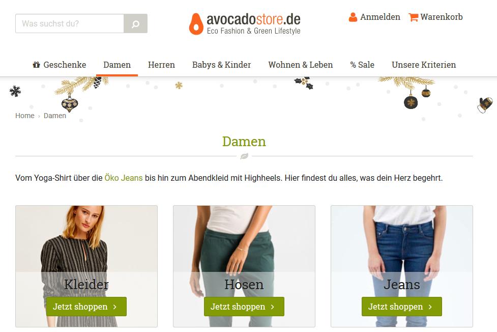 Statt Tracking bei Amazon: fair und nachhaltig bei Avocadostore einkaufen