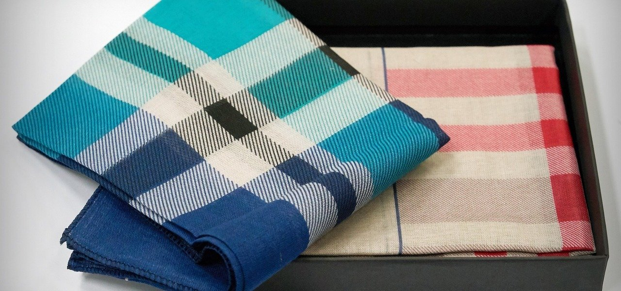 Stofftaschentücher - besser als Papiertaschentücher