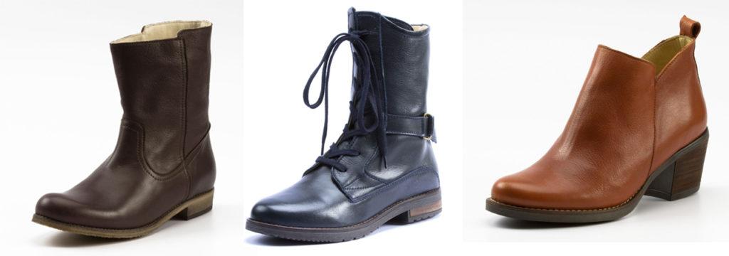 Schuhe der Waschbär Hausmarke enna aus zertifiziertem Bio-Leder