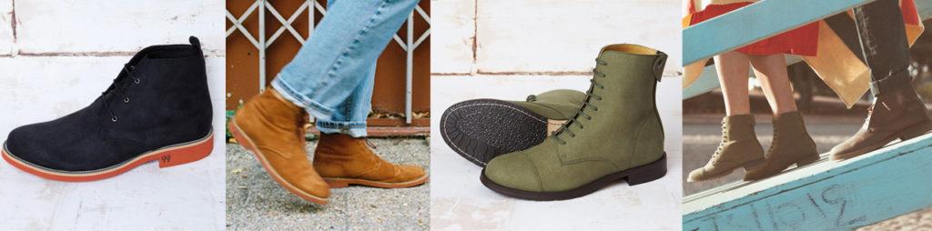 Vegane Winter-Schuhe von Good Guys aus recycelbarer Mikrofaser, Leinen, Naturkautschuk