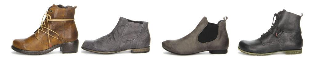 Winter-Schuhe von Think! aus pflanzlich gegerbtem Leder