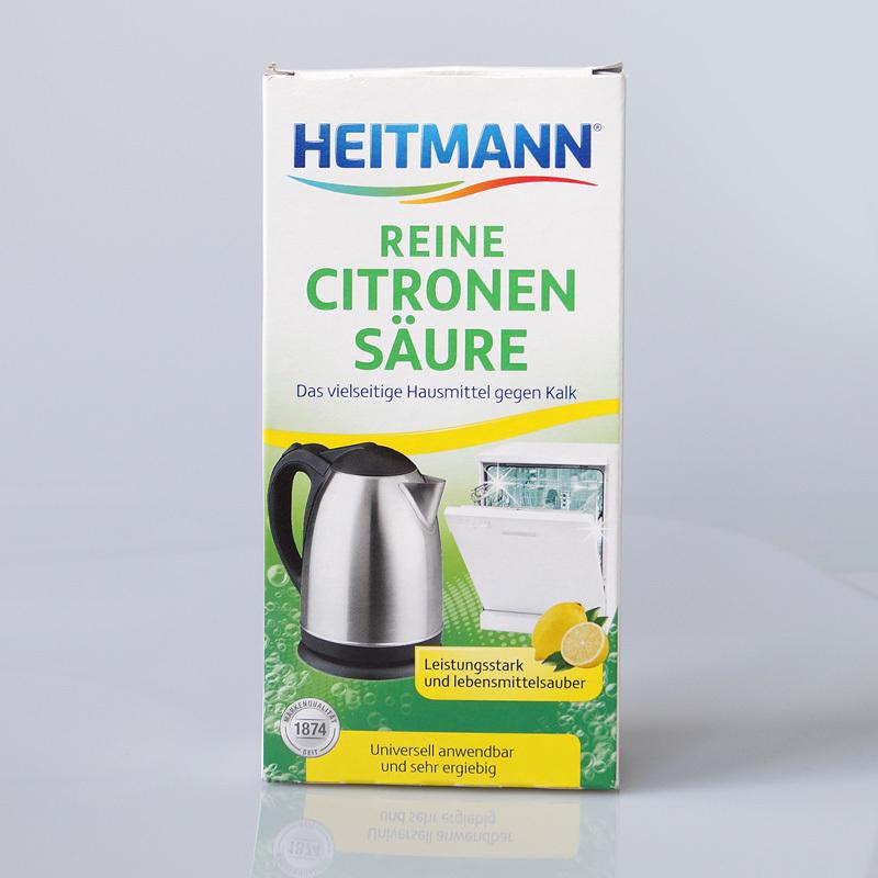 Zitronensäure darf nicht erhitzt werden.