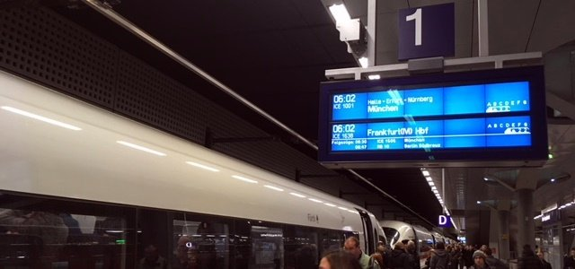 Ice Sprinter Berlin München Die Bahn Kann Ziemlich Geil Sein