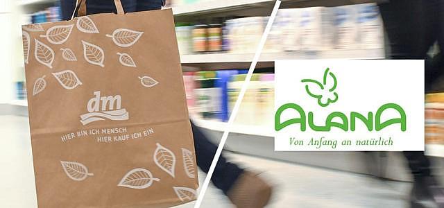 Alana ist die dm-Eigenmarke für Bio-Kinderkleidung