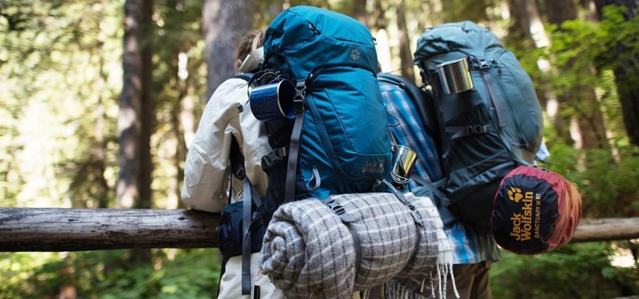 Beim Backpacking hast du allerlei dabei.