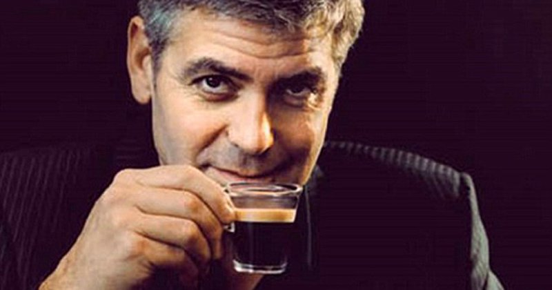 George Clooney Kaffee