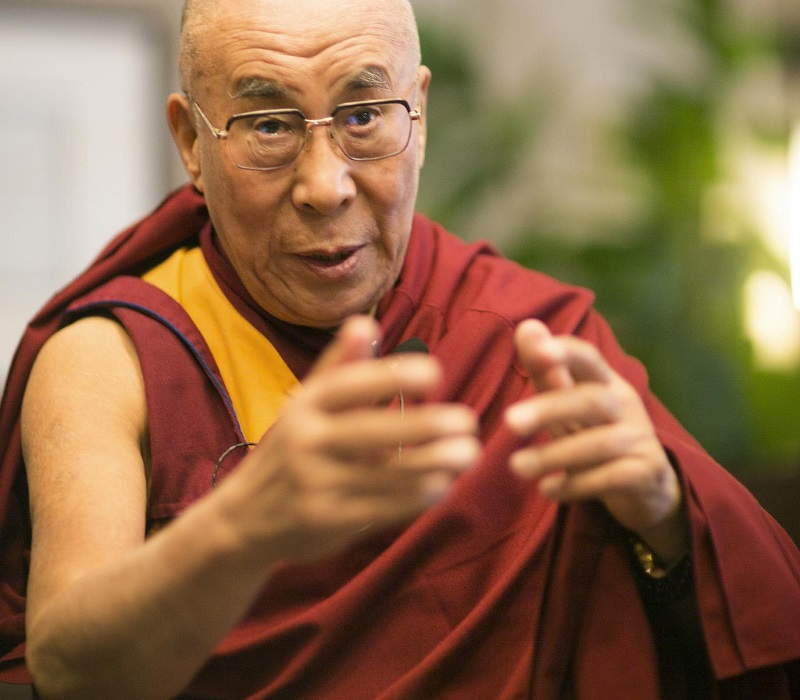 Dalai Lama im Interview mit Franz Alt