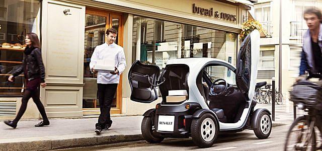 Renault Twizy Elektroauto E-Quad