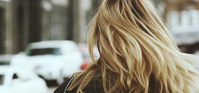 Haare, blond