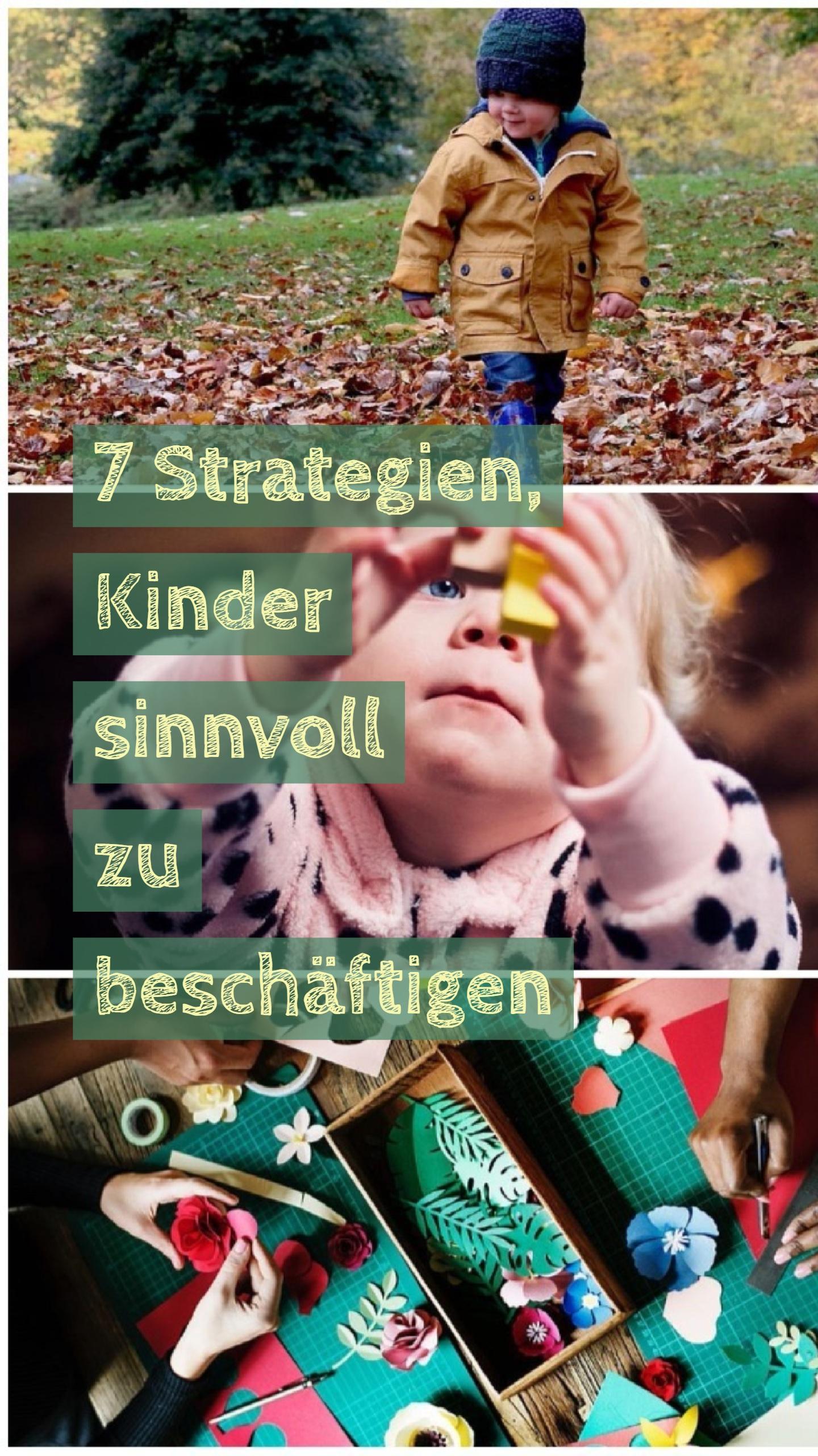 Weg Mit Dem Smartphone 7 Strategien Kinder Sinnvoll Zu Beschaftigen