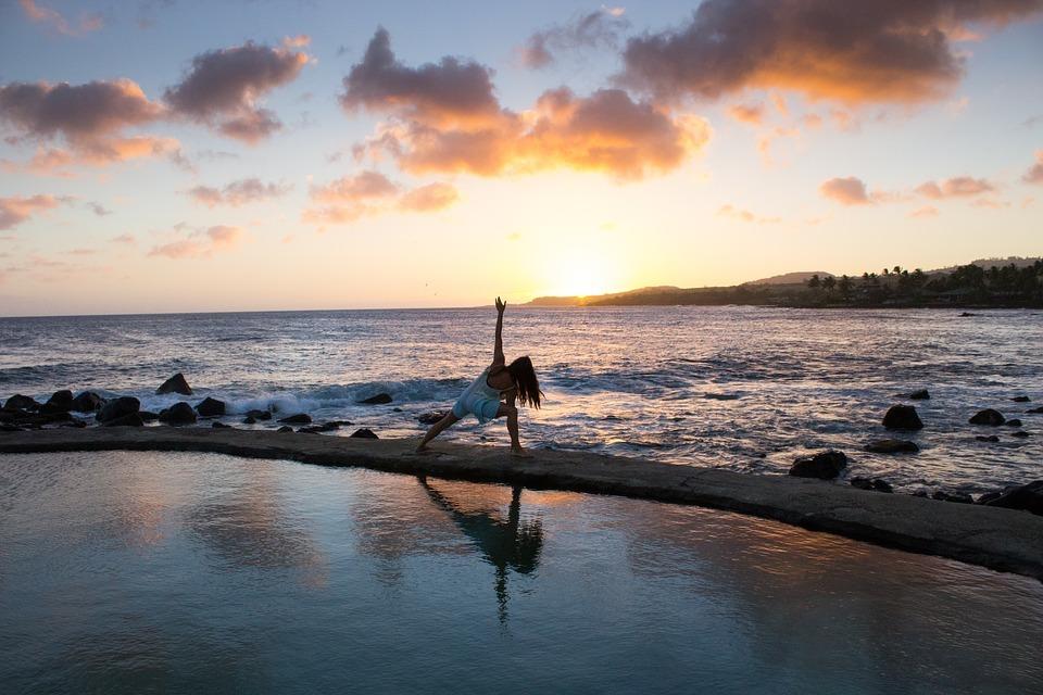 Körperliche Gesundheit und innere Ausgeglichenheit stehen beim Yoga im Vordergrund.