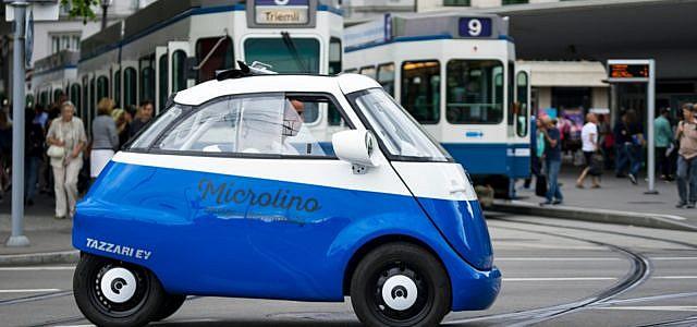 Microlino Elektroauto