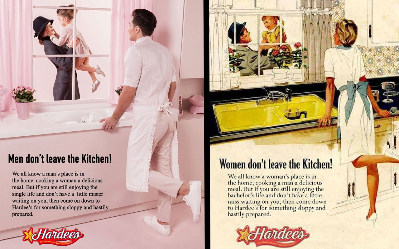 Sexistische Werbeplakate mit vertauschten Rollen - Utopia.de